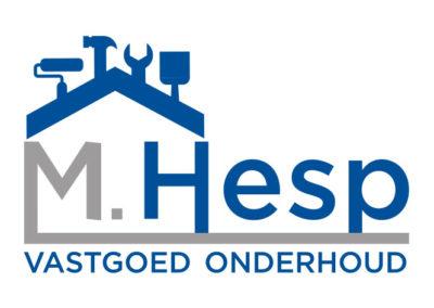 Mitchell Hesp vastgoed onderhoud logo design
